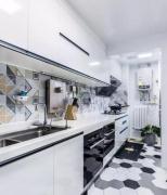 狭长型的厨房该如何设计和